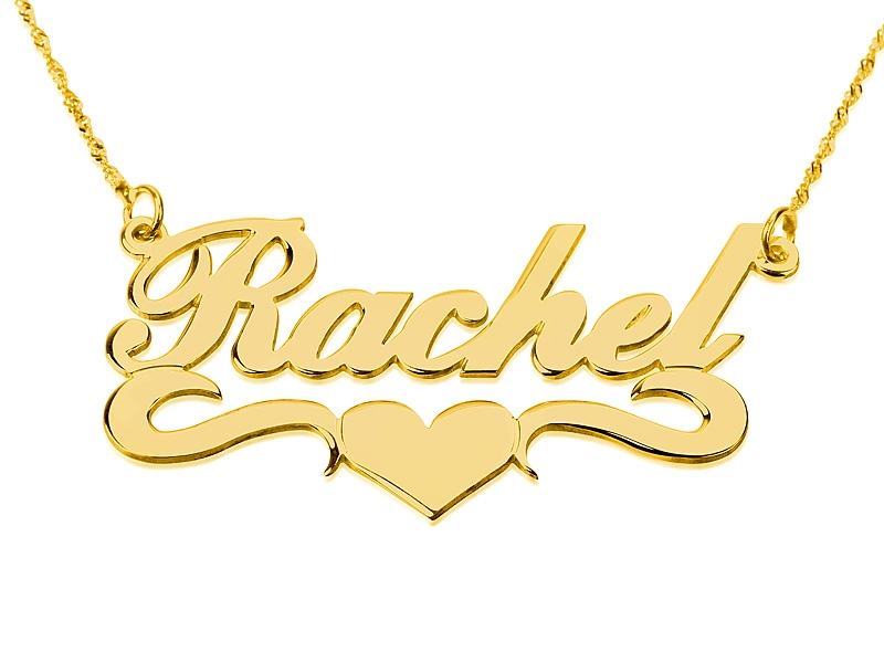 you should probably read this gold necklace with name in